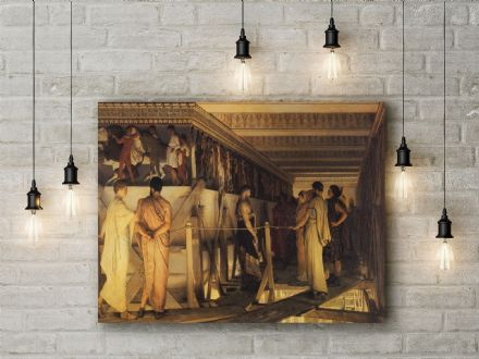 Lawrence Alma-Tadema: Phidias and the Frieze of the Parthenon. Fine Art Canvas.